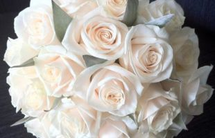 Peach Bridal Bouquets