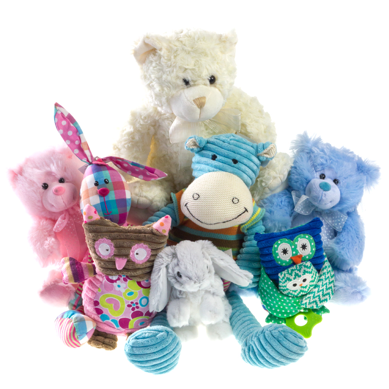 stuffed animals for new baby