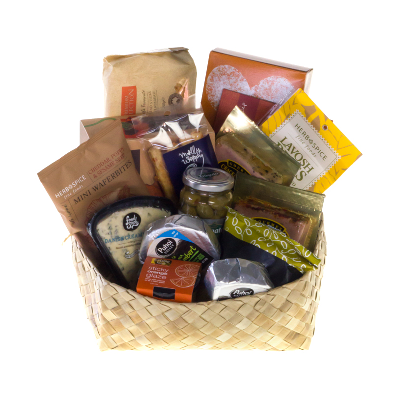 Gift and food basket