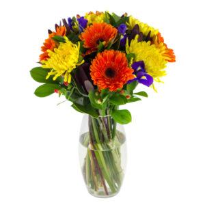 Bright floral arrangement in Browns Bay Auckland