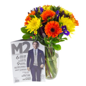Flowers and Mens Magazine