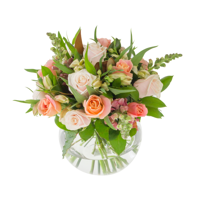 Light floral arrangement in Browns Bay Auckland