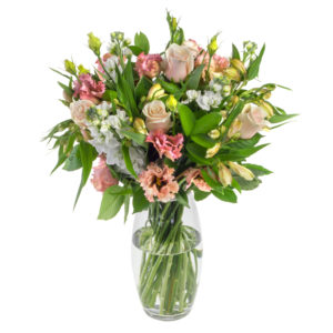Florals and greenery bouquet